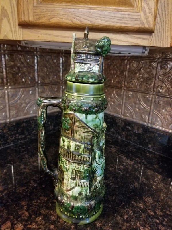 German Beer Stein 19 inch tall 0
