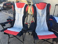 New camping chairs $150 for all 7 see below  Indio, 92203