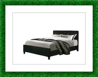 King platform bed free mattress and delivery Alexandria, 22305