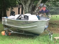 14 ft Sea Nymph 15hp game Fisher 2 cycle motor with Trailer! Cleveland, 30528