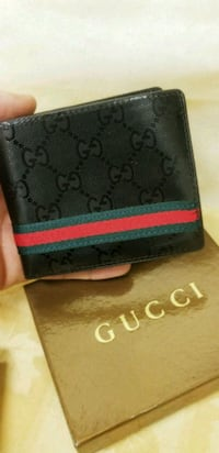black and green Gucci leather bifold wallet Fresno, 93704
