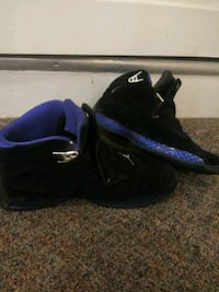 Size 11 Jordan 18 blue and black Hagerstown, 21742