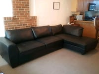 Black Sectional Couch (Price Negotiable) Portland, 97201
