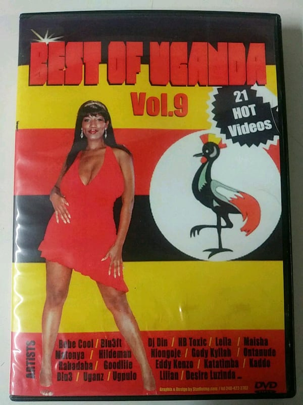 Best of Uganda vol. 9 music video dvd  2360ccf4-5b56-439d-9fd0-e1333d8f314d