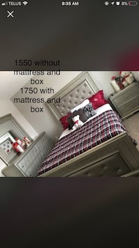 Queen bedroom set  Edmonton, T5X 0G1