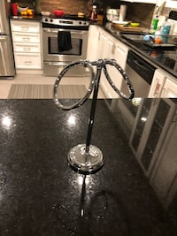 Stainless Steel Standing Cloth/Towel Holder