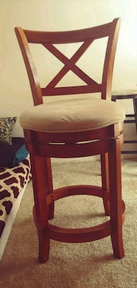 Bar stool. Solid wood.  Fairfax, 22031