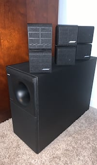 BOSE ACOUSTIMASS 7 home theater speaker system.