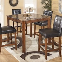 High top dining set with 4 chairs Syosset, 11791