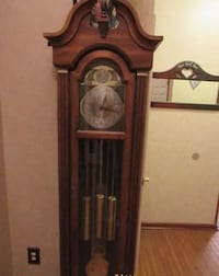 Grandfather Clock (Cherry Wood) Springfield