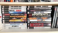 ps2, ps3, wii, pc and gamecube games Laval, H7W 1Z2
