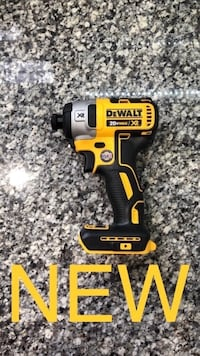 New Dewalt 20V MAX XR Brushless 3-Speed Impact Driver Cordless Power Tool, Tool Only Hilliard, 43026