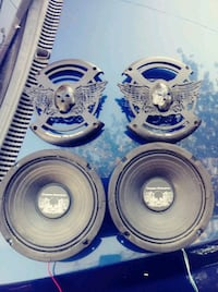 2 6.5 power acoustik loudspeakers