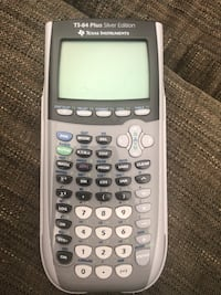 TI-84 Plus Silver Edition Graphic Calculator San Francisco, 94115