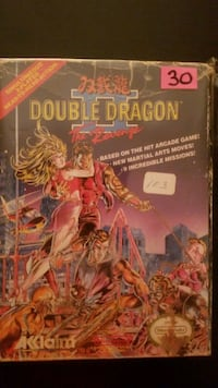 Double Dragon 2 for NES with original box  Vaughan, L4L