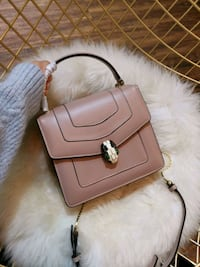 Bvlgari Serpenti Foreve brown leather handbag Washington