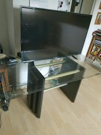 """Glass dining table 105""""×34"""""""