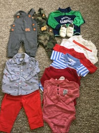 toddler's assorted clothes 6_9 months Vancouver