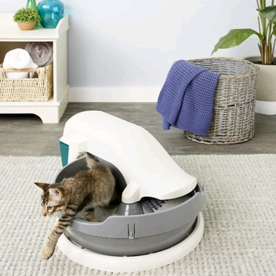 SELF CLEANING CAT LITTER BOX *mg* Automatic CLEANI