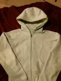 Lululemon light greenish blue zip-up hoodie