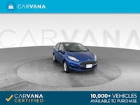 2018 *Ford* *Fiesta* SE Sedan 4D sedan Blue Downey