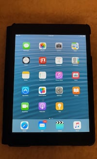 Ipad mini Wi-fi 64GB blk comes with box, case & charger.Mint condition