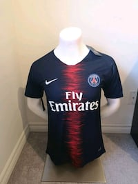 Brand new in tags PARIS ST GERMAIN 2019 Jersey!    Mississauga, L5B 4M9
