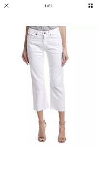 Rag and bone cropped white jeans size 29 New Westminster, V3M 7A8