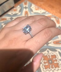 Size 7 Over the Top Oval Shape CZ Ring Woodbridge, 22193