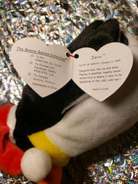 black and white dog plush toy New Bedford, 02745