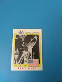 Jerry West basketball trading card Bakersfield, 93309