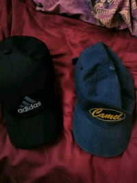 black and blue Adidas fitted cap Gardena, 90248