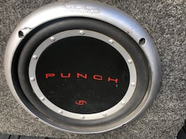 10 inch subwoofer w/amp