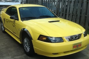 2001 Mustang -CASH/TRADE ,TRUCK WITH PLOW