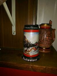 red and white ceramic beer stein Saint Petersburg, 33714