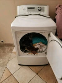 white front-load clothes washer Dallas, 75224