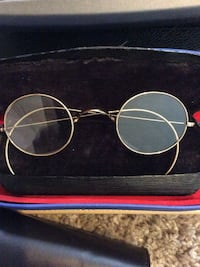Antique clear optics's, Gold,lightweight wired eyeglasses,RX ready Manteca, 95336