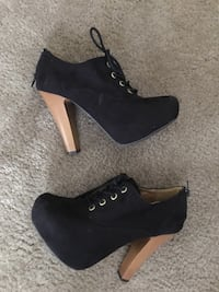 NEW fall suede bootie heels size 6 Oklahoma City, 73145