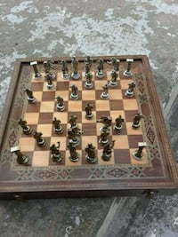 brown and gray chess board set Woodbridge, 22191
