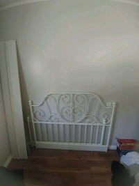 white wooden headboard and footboard Winnipeg, R2H 2V1