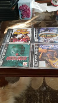 4 PlayStation 1 games Courtice, L1E 2B9
