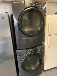 Kenmore front load washer dryer set with 60 day warranty  Woodbridge, 22191