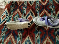 purple-and-grey low top Nike shoes Connersville, 47331