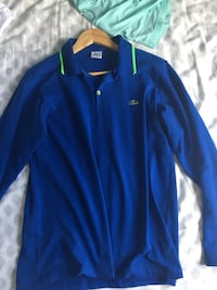 Blue Lacoste long sleeve shirt  Calgary, T3L