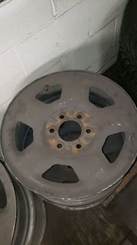 FORD F150 SET OF 4 STEEL RIMS