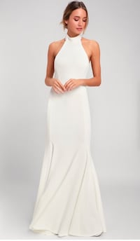 XS Lulus White Maxi Dress Toronto, M8V 3R9