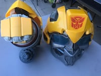 Transformers Role Play Helmet and Arm Blaster