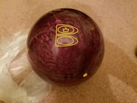 Brunswick Command Zone 14 lb bowling ball 44 km