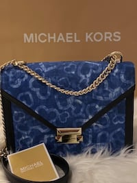 Michael Kors Whitney Large Heart Tie-Dye Convertible Shoulder Bag