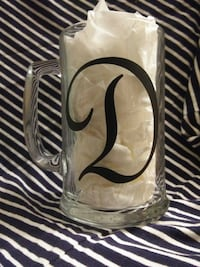 Personalized clear mugs